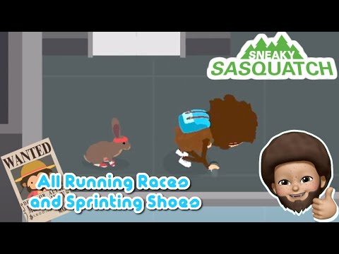 Sneaky Sasquatch Running Races and Sprinting Shoes [Apple Arcade]