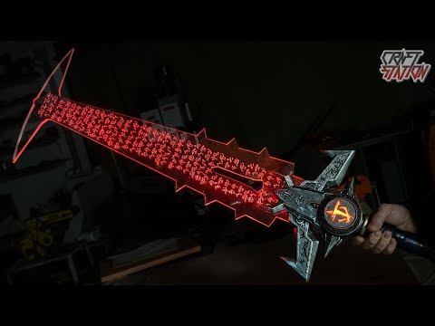 How To Make  Eternal SWORD From DOOM ETERNAL DIY