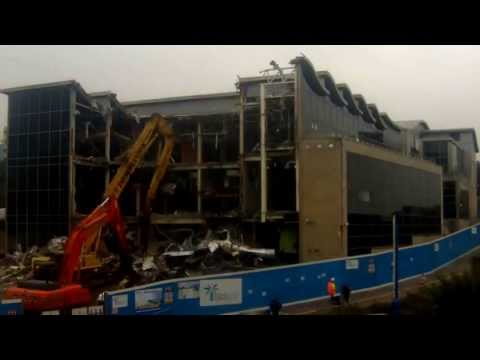 777 Demolition demolishes the Bournemouth IMAX Timelapse View 1