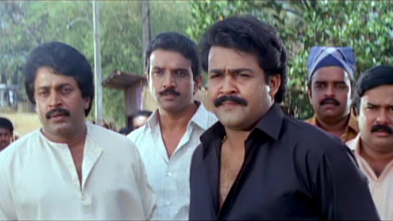 Download എൻ്റെ കൈ തരിച്ചിട്ട് പാടില്ല, വിടാടാ | Devasuram | Mohanlal | Mass Movie Scene