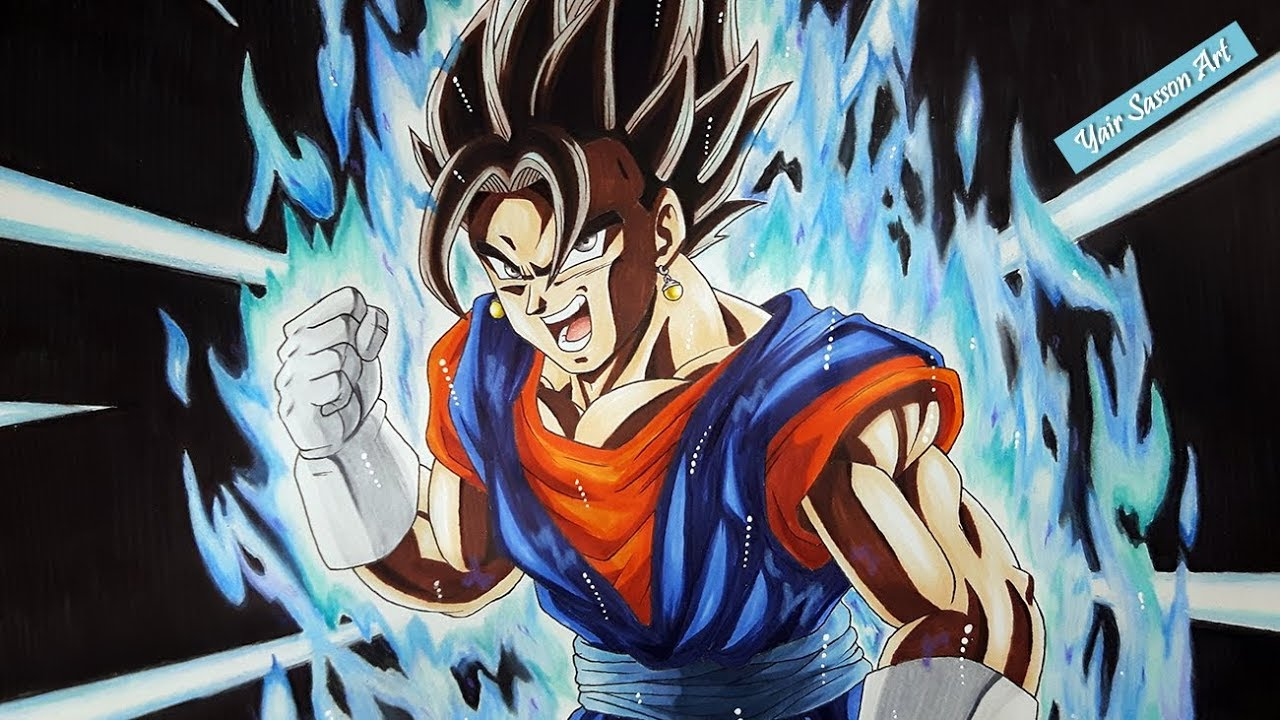 Drawing vegito ultra instinct youtube - Goku ultra instinct sketch ...