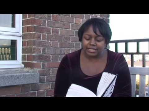 Malorie Blackman talks about Double Cross