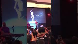 Calum Scott's heartwarming feeling Live in Manila