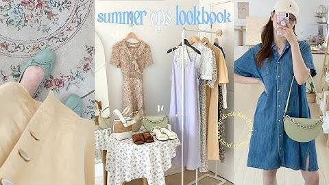 오래기다리셨습니다...💛 하나만 입어도 갬성 가득한 7가지 여름 원피스 룩북👒 (여름 패션하울/ 여름 룩북/ 여름 코디 추천|뷰티펄진주)