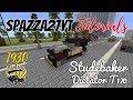 Minecraft Studebaker Dictator T170 1930 Tutorial