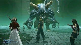 FINAL FANTASTY VII REMAKE - APS Boss Battle + Ifrit Summon (TGS 2019) @ 1080p ᴴᴰ ✔
