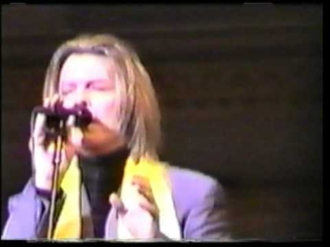 David Bowie Tibet House Benefit 26.02.2001 Silly boy blue
