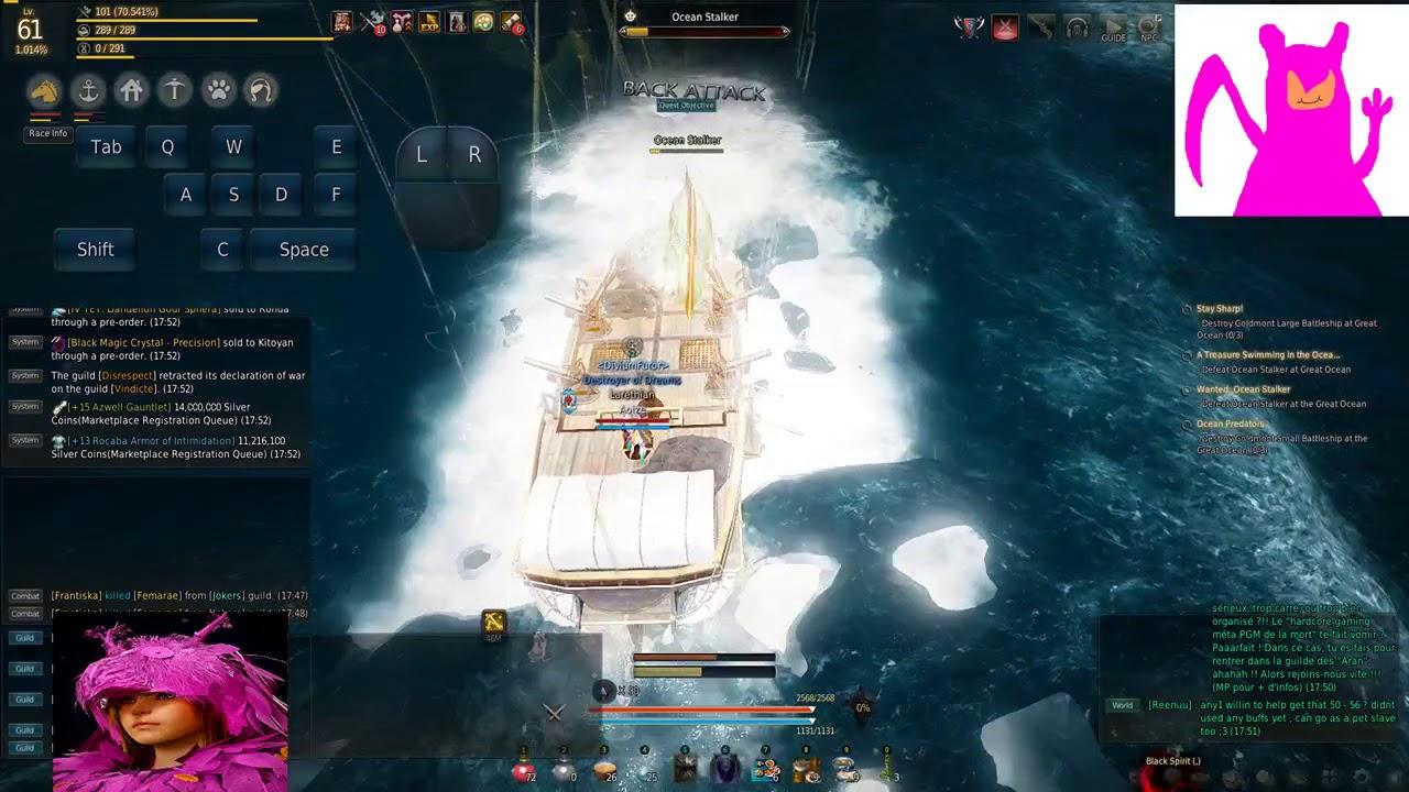 Black Desert Online | Solo Kill of Hekaru/Ocean Stalker by ImmortalWhisperer