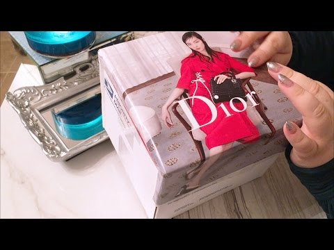 ASMR Unboxing Vintage Dior Jewelry Case & Update Summer 2016