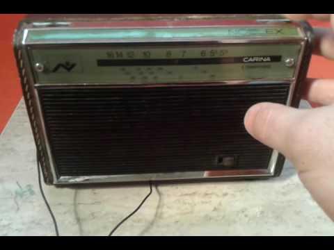 antigua radio carina -noblex.
