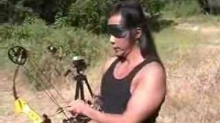 American Blind Archer Austin Beaumount How to shoot without   sight