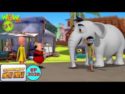 Safed Haathi - Motu Patlu in Hindi - 3D Animation Cartoon - As on Nickelodeon