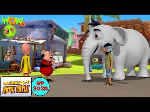 Safed Haathi - Motu Patlu in Hindi - 3D Animation Cartoon - As on Nickelodeon thumbnail