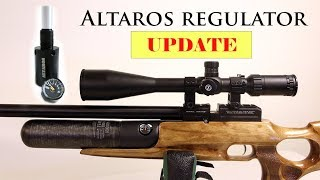 Altaros Regulator Install On Kral Puncher Jumbo UPDATE At The Range And Shot String
