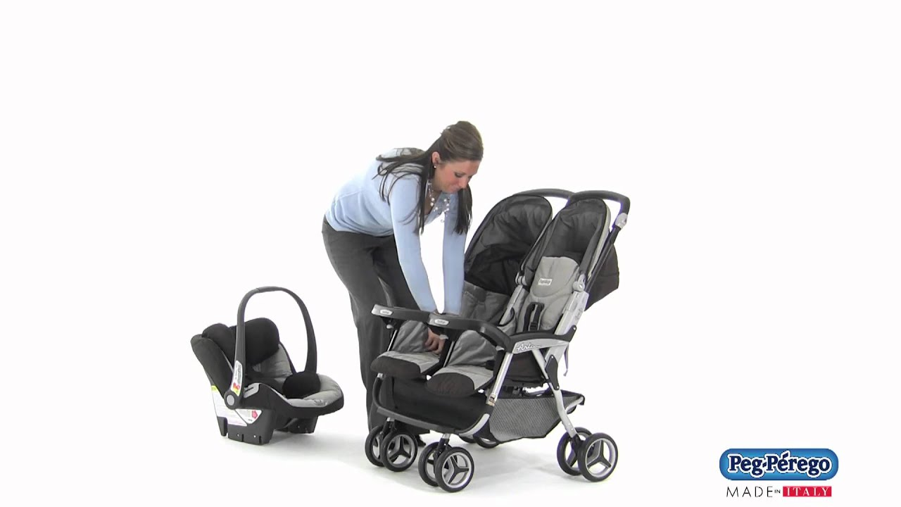 2011 Double Stroller - Peg Perego Aria Twin 60/40 - How to Make ...