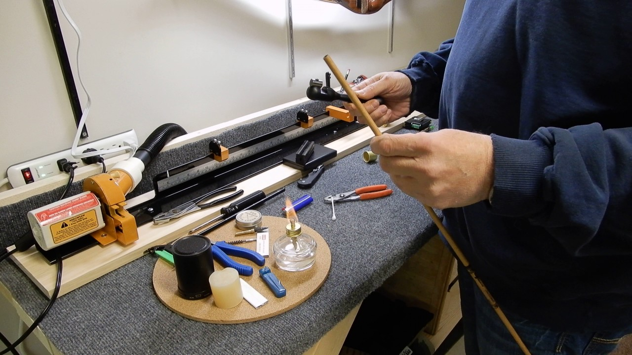 Removing and installing arrow inserts with hot glue - YouTube