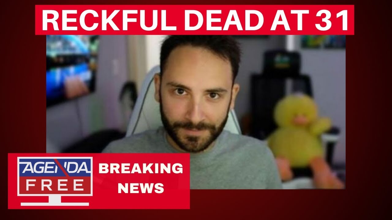 Twitch Streamer Reckful Dead at 31 - LIVE BREAKING NEWS COVERAGE