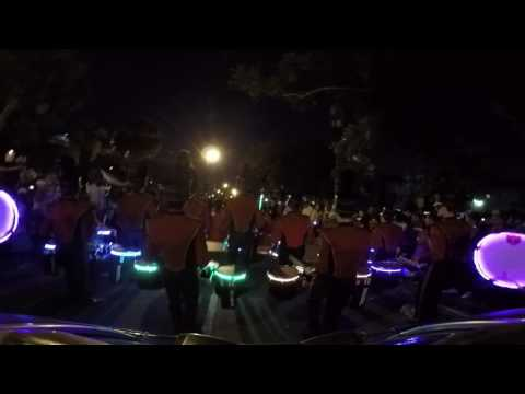 Brother Martin High School Marching Band Endymion Parade 2017 - Bass 3 Cam