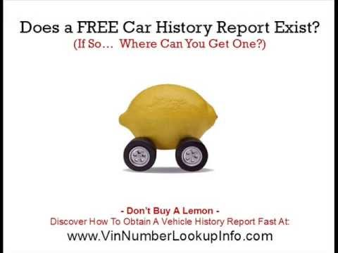 Free Car History Report >> Does A Free Car History Report Exist Used Car Expert Reveals The Truth