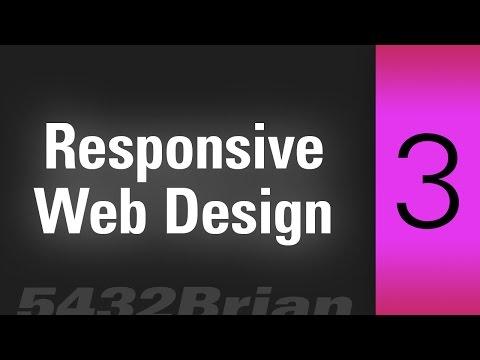 Responsive Web Design CC Part 3 no spam and FPO