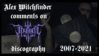 Alex Witchfinder comments on Thy Light's discography