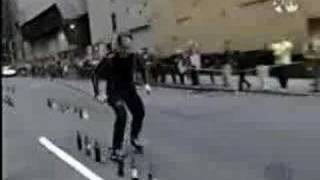 Rollerblade bottle tune guy - Michel Lauzière