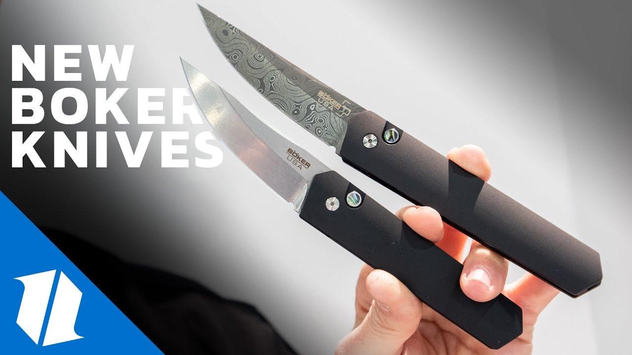 NEW Boker Knives | SHOT Show 2019
