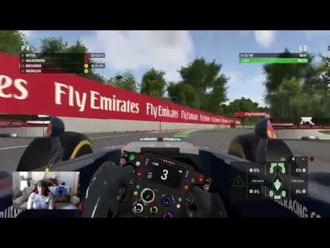F1 2016 Quick Race Canadian GP 100% HARD AI