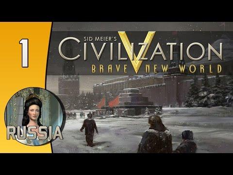 Civilization V Daily #5: Russia (Catherine) - Part 1
