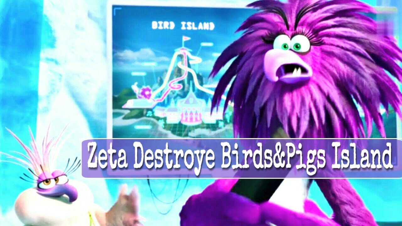 Angry Birds 2 Movie Zeta Launches The Blast And Destroyed Birds