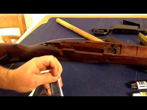 DIY Rifle Bedding with JB Weld M48B