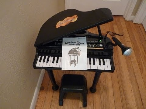bruin grand piano with stool review 1