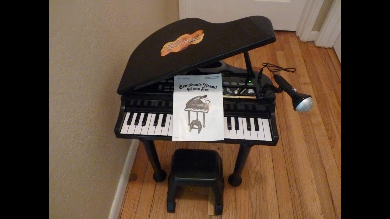 children u0026 39 s winfun little virtuoso dance hall symphonic grand piano toy