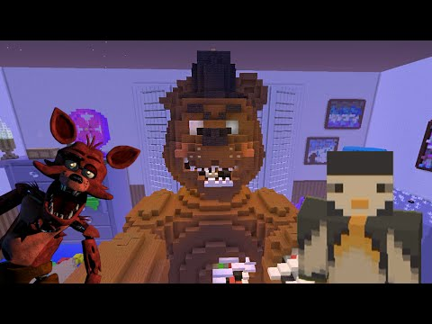 Minecraft Xbox - Hunger Games: Five Nights at Freddy's 4