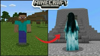 How To Turn Into BLOODY MARY in Minecraft Pocket Edition