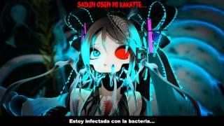 【 Hatsune Miku 】 Saikin Osen -Bacterial Contamination V2- 【 Sub Esp + Romaji】