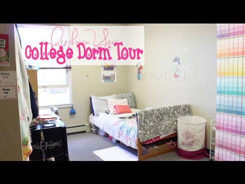 College Dorm Tour   Freshman Year