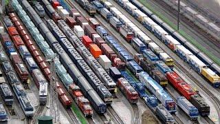2017,3,18 鉄道模型 貨物列車 超いろいろいっぱい 大運転会7!!! 色鮮やかなコンテナと専用列車たち