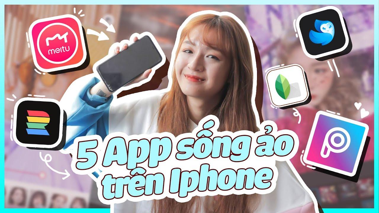 5 app chỉnh ảnh yêu thích của Gà 📱 Chỉnh ảnh bằng điện thoại đỉnh cao | Cách Gà chỉnh ảnh Instagram