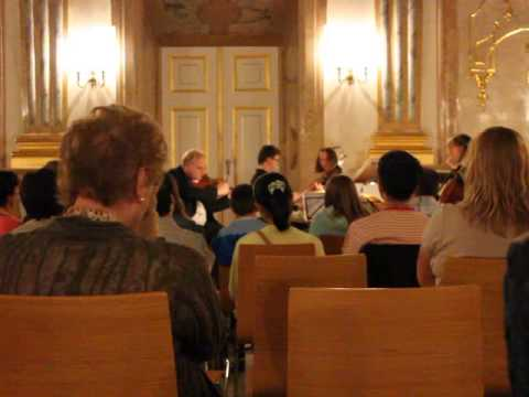 Mozart Concert in Salzburg, Austria #travel