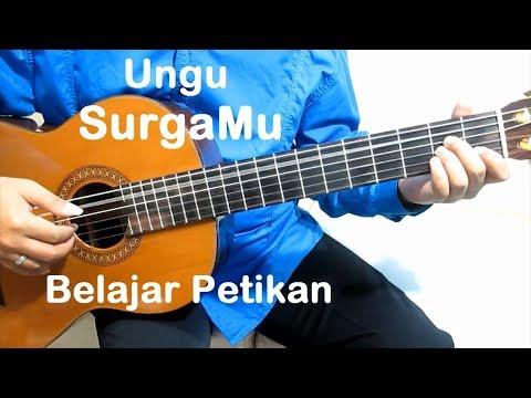 (Petikan) Ungu SurgaMu - Belajar Gitar Petikan Untuk Pemula