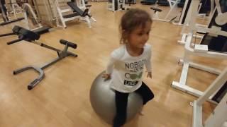 elif ve fitness , eğlenceli çocuk videosu