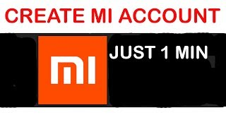 How To Create MI Account   Just 1 Min