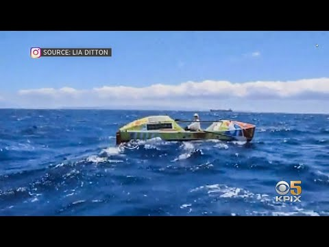 Bay Area Woman Rows Solo From San Francisco To Hawaii