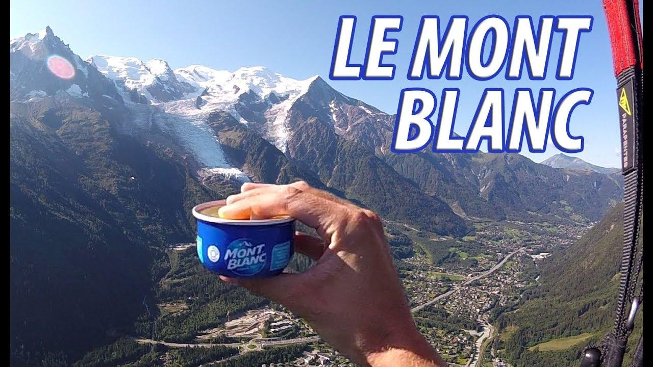 LE MONT BLANC - CHAMONIX EN PARAPENTE !