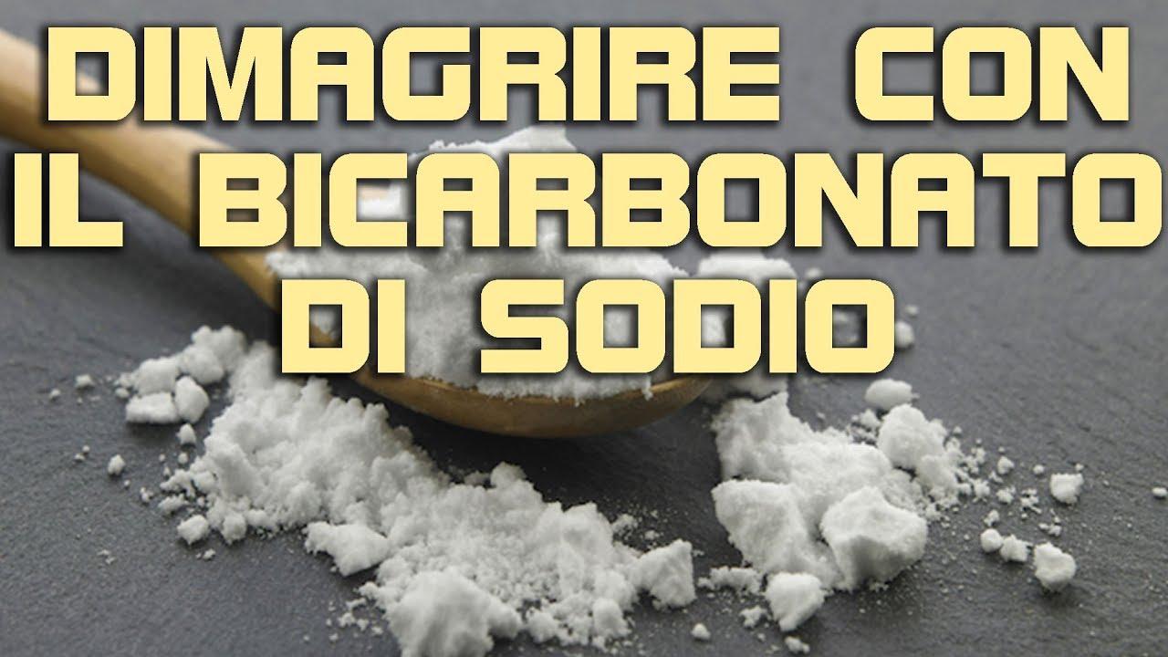 dimagrante al bicarbonato di sodio