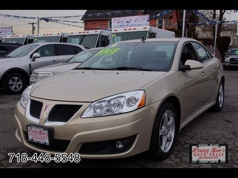 2009 Pontiac G6 3.5 V6 GT Sedan Tan - YouTube