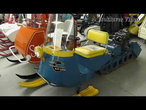 Crane's Snowmobile Museum 2018 Vintage Show