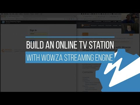 Build an Online TV Station With Wowza Streaming Engine