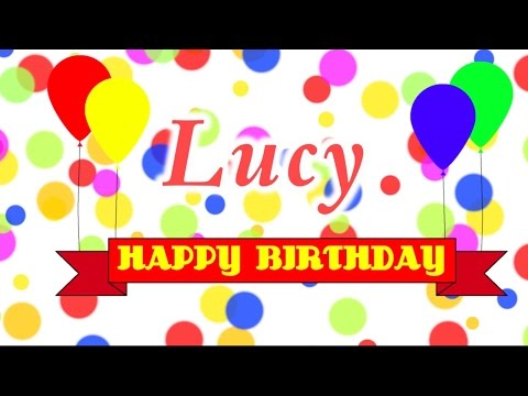Happy Birthday Lucy Song